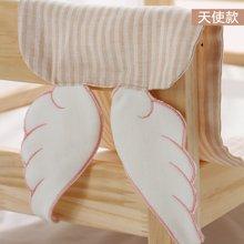 威尔贝鲁 宝宝吸汗巾 儿童纯棉垫背巾 婴儿隔汗巾婴幼儿加大0-3岁