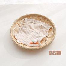 威尔贝鲁 婴儿口罩纱布 宝宝口罩防尘透气 儿童婴幼儿口罩春秋款