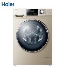 海尔(Haier) 滚筒洗衣机全自动洗烘10公斤XQG100-HBDX14756GU1变频洗烘一体机