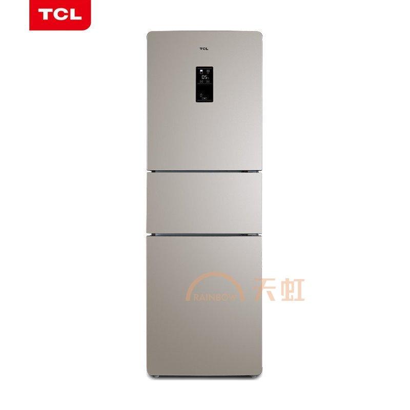 tcl 235升三门风冷无霜冰箱 电脑温控(bcd-235tewf1)