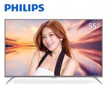 飞利浦(PHILIPS)55PUF6092/T3 55英寸4K超高清 二级能效 科技感机身 WIFI智能液晶电视