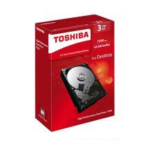 东芝(TOSHIBA)P300系列 3TB 7200转64M SATA3 台式机硬盘