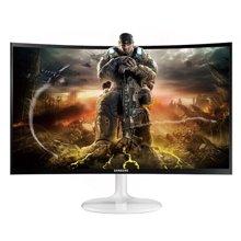 三星(SAMSUNG)C24F399FH 24英寸曲面显示器 高清液晶台式电脑屏壁挂