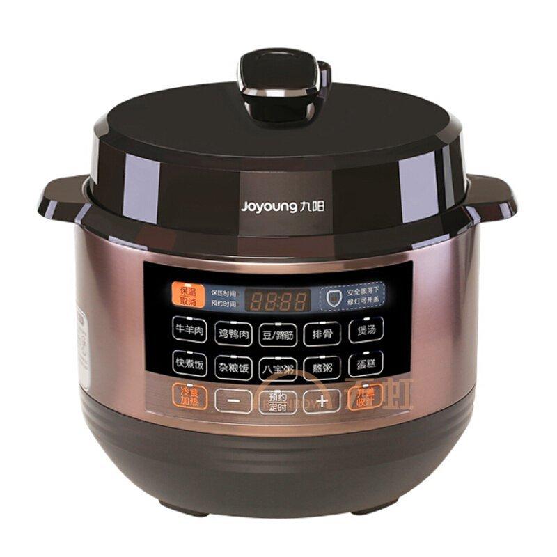九阳(joyoung)电压力煲多功能家用5l 全自动电压力锅双胆高压锅可预约