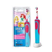【德国】Braun博朗电动牙刷儿童阶段电力百灵欧乐B公主 (3岁以上宝宝)