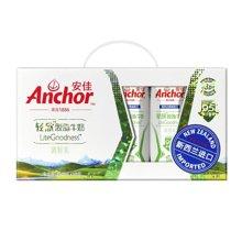 安佳超高温灭菌轻欣脱脂牛奶(250ml*10)