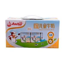 安佳超高温灭菌儿童牛奶原味金装NC3(190ml*12)