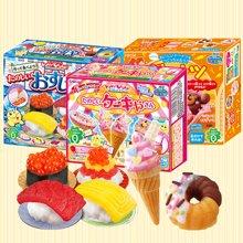 蛋蛋猫-日本进口食玩Kracie嘉娜宝手工DIY糖果儿童零食寿司甜甜圈甜点糖 寿司造型手工糖