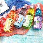 日本食玩进口弹珠波子汽水网红饮料哈达波子碳酸饮料200ml*6瓶
