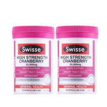 【2瓶装】澳洲Swisse瑞思蔓越莓胶囊 30粒/瓶