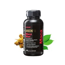 美国GNC健安喜 秘鲁玛咖 MACA精氨酸 60粒/瓶 抗疲劳