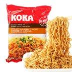 新加坡进口 KOKA可口原味干捞/香菇快熟素面/辣味星洲炒面 85g 方便面快熟面速食泡面袋装