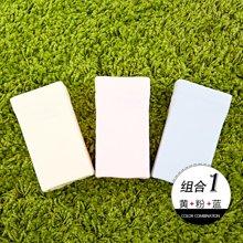 Hodo/红豆女士清新甜美纯色无痕棉质三角棉内裤3条礼盒装 HD9023-01THZ