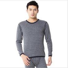 俞兆林新款上市横条纹加绒基础保暖内衣 男士/女士 保暖内衣 YZL118068