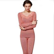 俞兆林新款雪花美体塑身内衣 女士蕾丝款加绒加厚 保暖内衣 YZL720150