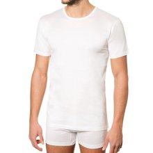 Fragi 高端男士全棉圆领短袖T恤 Filsocozia精梳丝光长绒棉 正装打底白T恤 意大利制造原装进口 1361