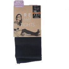 日本RELISH ORIGINAL厚木 秋冬发热连裤袜210D 竖条纹(一双装)