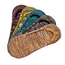 【五条装】俞兆林 自由线条 线隐形男船袜 棉袜  MS0403
