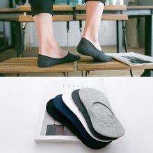 【5双装】DAIYI戴奕袜子 男款浅口硅胶防滑船袜