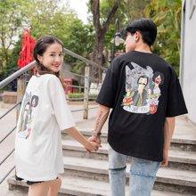 搭歌新款T恤Starwars星球大战韩版宽松情侣装短袖t恤男女3668