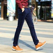 史克维斯休闲裤青年男士商务男装男裤春季新款时尚休闲长裤SK9801