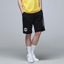 Guuka/古由卡潮牌运动短裤男夏季 青少年街头嘻哈欧美风宽松针织五分裤D4529