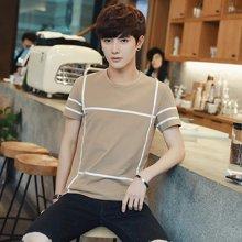 卓狼夏装男士短袖t恤韩版白色青少年潮流男装夏天上衣服T701nd