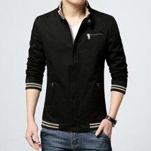 卓狼男装新款立领夹克外套短款水洗夹克休闲韩版日系青年男士潮J8803