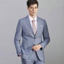 艾梵之家 商务修身西服套装男免烫职业西装外套男士正装EVXF151