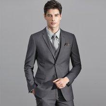 艾梵之家 男士西服套装婚礼韩版修身商务正装男西装职业装EVXF011