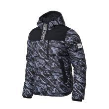 李宁短款羽绒服男士运动时尚保暖80%白鸭绒运动服AYMM101
