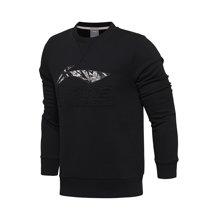 李宁卫衣男士运动时尚系列套头衫长袖圆领休闲运动服AWDM599