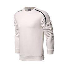 李宁卫衣男士2018新款训练系列套头衫长袖圆领上衣针织夏季运动服AWDN365