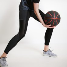 运动系列 2018夏季新品 兰卓丽旗下运动品牌动动嗒嗒束腿运动显瘦九分裤 32040001