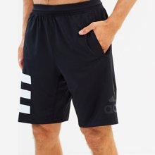 Adidas阿迪达斯男裤 透气速干男子休闲运动五分短裤CW1869