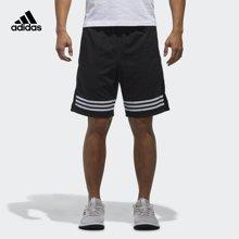 Adidas/阿迪达斯 男子运动型格SHORT WV 3S梭织短裤 CX5027