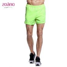 佐纳(ZOANO) 夏季男士 健身夜跑步训练裤 舒适透气速干马拉松宽松短裤子五分运动短裤