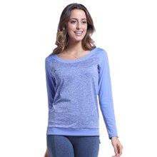 Zoano/佐纳 女士瑜伽长袖T恤新款运动针织高弹长袖T恤练操服
