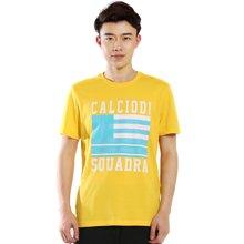 德尔惠2017年夏季新款男士短袖运动男T恤宽松纯棉排汗透气T恤 92610127