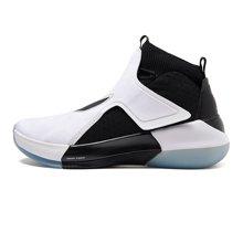 李宁篮球鞋男鞋驭帅XII减震透气包裹耐磨防滑一体织运动鞋ABAN025