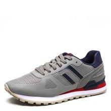 德尔惠 男式 时尚透气复古跑步鞋74614510