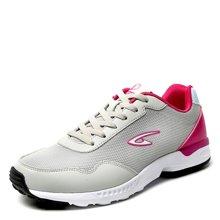 德尔惠女鞋春季网面透气跑步鞋休闲慢跑鞋旅游鞋轻便正品T21623556