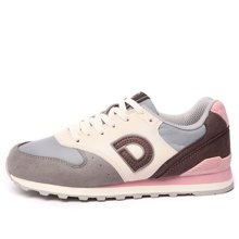 德尔惠女鞋运动鞋女秋季跑步鞋复古慢跑鞋新款休闲旅游鞋正品T71824510