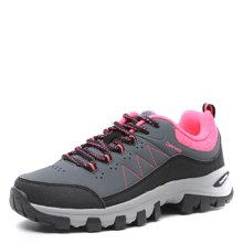 德尔惠女鞋2017春季新款登山鞋女运动鞋正品徒步鞋女户外鞋跑步鞋44624090