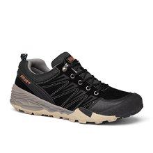 乐嘉途春季男鞋户外登山鞋男大码徒步鞋防滑耐磨户外鞋子棉鞋加绒不加绒可选L2055