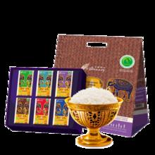 泰国进口 王家粮仓 有机泰国茉莉香米 原装大米 泰米礼盒3KG 年货
