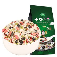 十月稻田十谷米1kg含大米红豆绿豆花生黑豆燕麦黑米