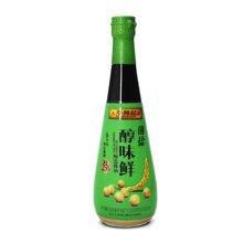 李锦记薄盐醇味鲜酿造酱油(500ml)