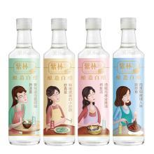 紫林小媳妇3.5度500ml*4瓶家用食用洗脸无酒精酿造白醋