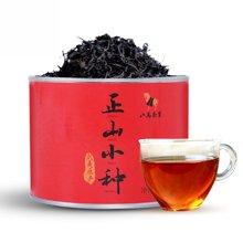八马茶业 正山小种 拉普山小种 武夷山红茶 圆罐装茶叶80克 D0038